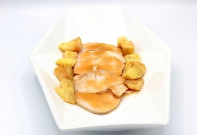 Arrosto di tacchino con patate