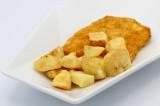 Cotoletta di pollo con patate