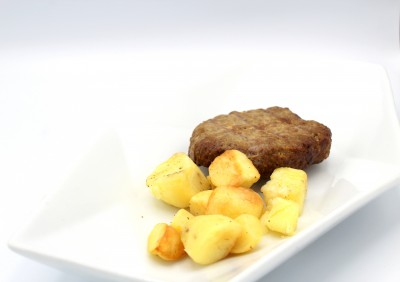 Hamburger con patate