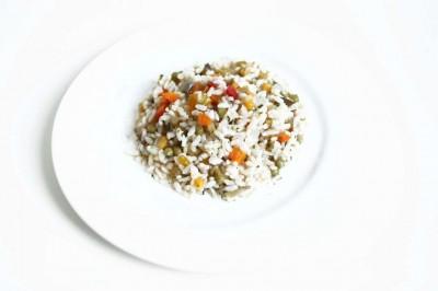 Insalata di riso alla vegetariana