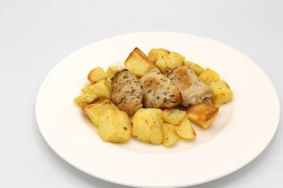 Involtini di pollo con patate