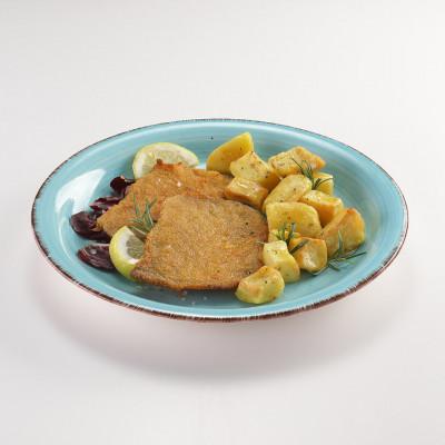 Cotoletta di maiale con patate